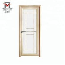 Perfil de aluminio de la puerta del cuarto de baño del precio barato de Phipulo 2018 para la puerta del armario