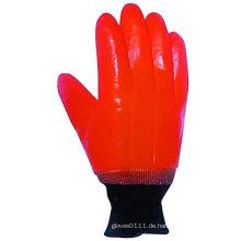 Smooth Finish Schaum Liner PVC Winter Arbeit Handschuh-5124