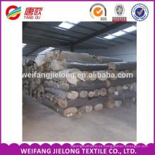 Tela larga de la mezclilla del algodón de la acción de la mezclilla del algodón de la mezclilla de Alibaba de 2015 China para la teñida sarga de los pantalones vaqueros