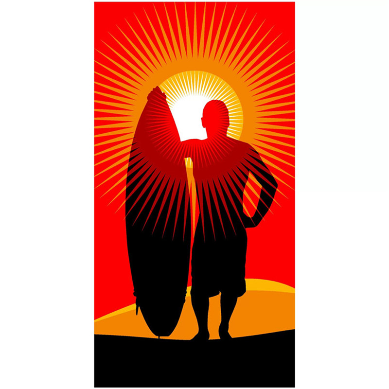 Pretty Sunset Beach Towel