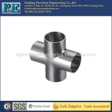 China high precision and quality custom welding cross tube