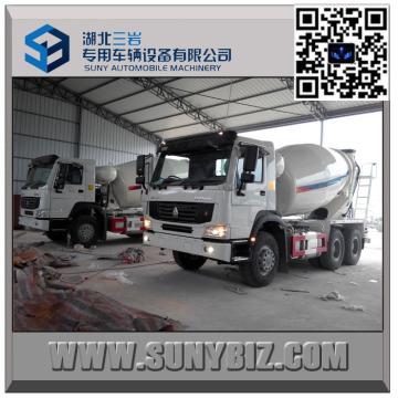 10 Wheeler HOWO 6 Cbm Rhd Cement Mixer Truck