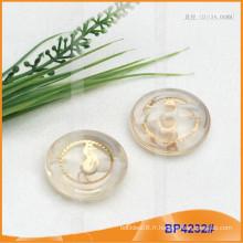 Bouton en polyester / bouton en plastique / bouton en résine pour Coat BP4232