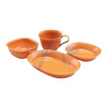 Inflight rotables sets (cup, bowl ,plate) utensil set tableware