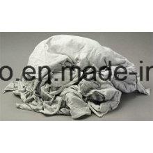 Trapos livianos de la materia textil del algodón de la tela de la basura para la limpieza de la máquina