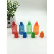 ISO8317 и SGS 30мл электронной жидкости бутылки с крышкой доказательства ребенка
