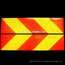Señal de tráfico de seguridad Película reflectante