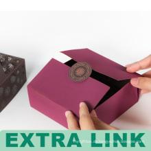 Sehr gute qualität billige high-end-pantone farbdruck gravieren muster goldfolie logo kreative cookie paket box
