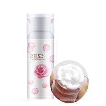 Nettoyant pour le visage en mousse nettoyante aux acides aminés à la rose