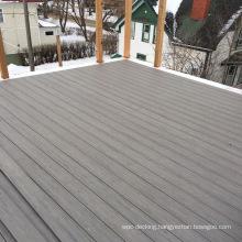 Promotional WPC Good Performance Waterprood and Crack Resistant WPC Outdoor Garden Plasitc Wood Floor Composite Deck Boards