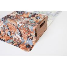 Tela de impresión de viscosa de tela textil de moda