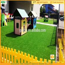 Высокое качество пейзаж искусственная трава для сад и спортивный пол