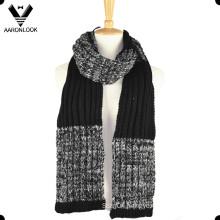 Men′s Fashion Twisted Yarn Thick Twist Knit Scarf