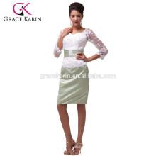Grace Karin Backless Lace Mère de la mariée Robe de soirée CL6067