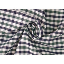 Oliver/Navy Kontrollen Köper 60 Baumwolle 40 Polyester-Gewebe Shirting