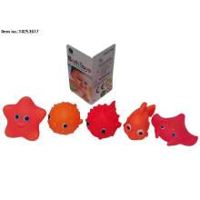 Weiches PVC-Spielzeug des Wasser-Spray-Bad-Spielzeugs für Kinder