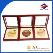 Высокомарочная подгонянная монетка сувенира с коробками