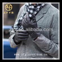 Mode Männer Leder Auto Fahrhandschuh
