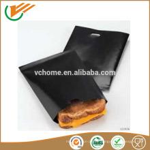 2015 Nouveau sac de grille noire antiadhésive grand format