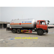 Dongfeng 10 camiones cisterna LPG cisterna