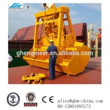 25т 6 12CBM грейферный ковш для палубного крана с дистанционным управлением