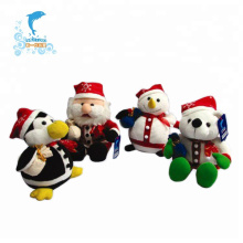 Juguete de peluche de Navidad de felpa suave personalizado personalizado