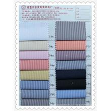 CVC Stripe Yarn-dyefd Ткань