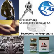 Propionate stéroïde de testostérone de poudre d'hormone de bodybuilding de test de P