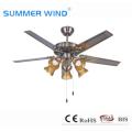 Потолочный вентилятор с подсветкой бытовой