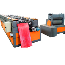 Garage Door Frame Rolling Shutters Cold Panel Roll Forming Machine