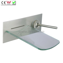 Glass Waterfall Wall Faucet Bath Tap (QH0500W)