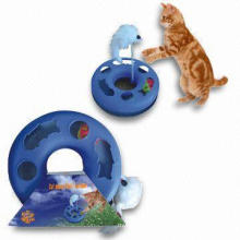 Juguete de plástico de gato barato, gato de juguete en movimiento (yt68987)