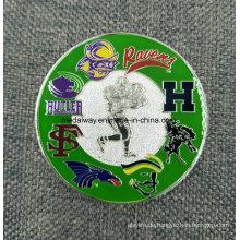 Hersteller Maker Custom Metall / Antik / Souvenir / Gold / Militär / Silber Police Challenge Münze mit Logo Kein Minimum