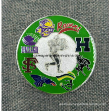 Manufacturer Maker Custom Metal / Antique / Souvenir / Gold / Military / Silver Police Moneda Desafío con Logo Sin Mínimo