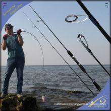 SPR130 popular chino aparejos de pesca SRF Nano Carbon Spinning caña de pescar
