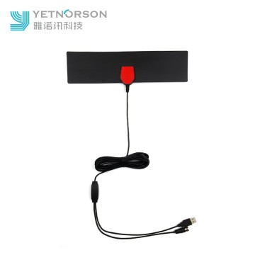 Factory Supply Flat Indoor Digital TV Antenna ATSC DVB-T2 HDTV Antenna