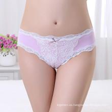 Pink Panty Cheeky utilizado ropa interior damas V Forma Briefs Ropa interior de las mujeres