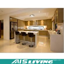 Conception modulaire de meubles d'armoires de cuisine de finition brillante (AIS-K365)