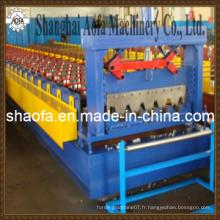 Machine de formage de rouleau de construction de plancher de nouveau type (AF-D850)