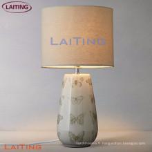 Nouveau produit lampes de table avec abat-jour blanc Haute qualité lampe d'usine