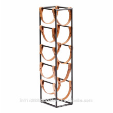 New Designer Beverage Stand with leather strip