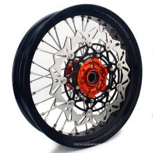 17 Inch Front Motorcycle Spoke Wheels Supermotor Wheel Rims for Dirt Bike