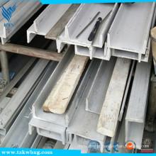 Barra de canal em aço inoxidável GB / T905 316L em vinagre e polido