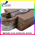 Low Cost Natural Color Kraft Handle Bag