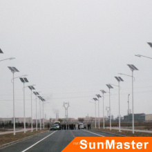 100W Aluminiumlegierung High Efficiency Solar-LED-Straßenlaterne,