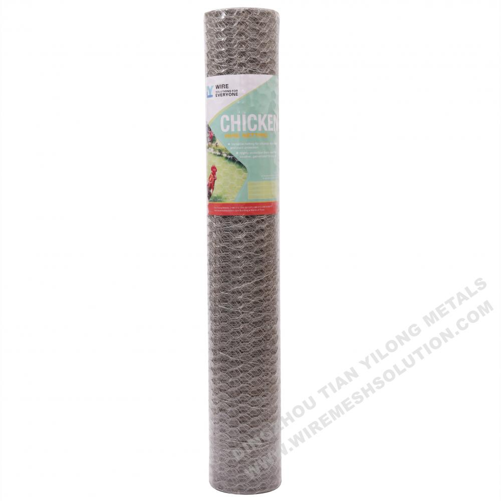 Hot Dipped Galvanized Hexagonal Wire Netting for Poultry