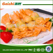 2014 hot sale high quality delicious frozen money bag snack