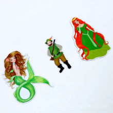 High Quality Cute Cartoon Promotional Paper Fridge Magnet