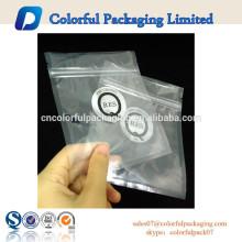 Saco de plástico do fechamento Ziplock 2015 para óculos de sol / originais com impressão do logotipo