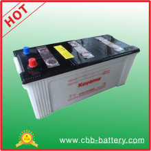 China Fábrica 150ah 12 V Bateria de Caminhão de Bateria de Carga Seca N150
